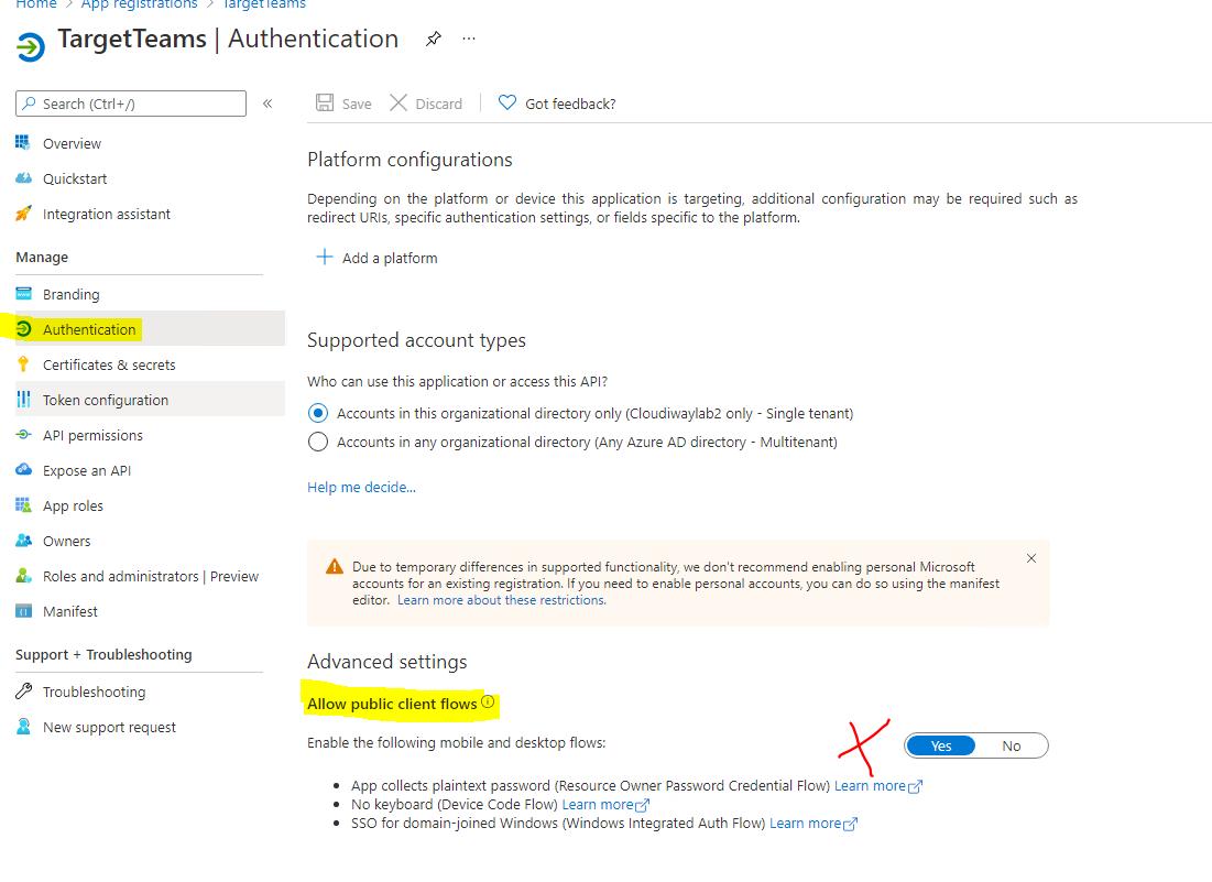 Graph API Authentication