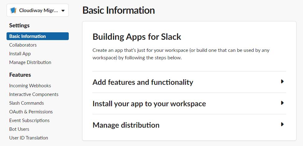 Building Apps for Slack