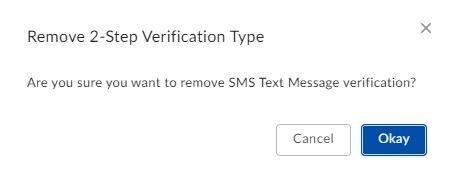 Box remove 2 step verification