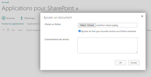 Select the OneDrive Viewer